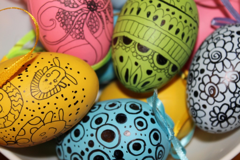 Doodling on Easter Eggs