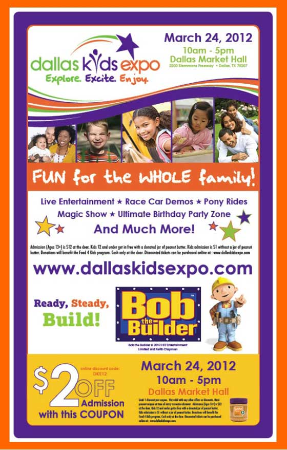 Dallas Kids Expo - Bob the Builder