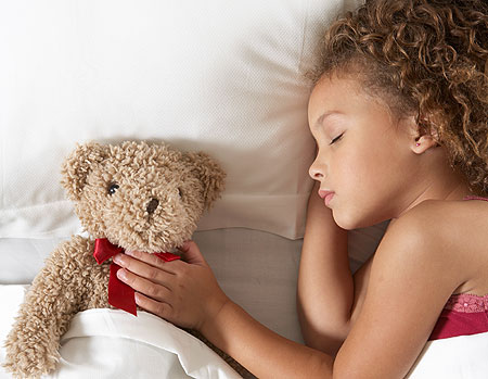 Sleepy Time Meditation - Child Sleeping with Teddybear