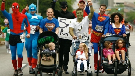 Sperhero 5K and Family Fun Run