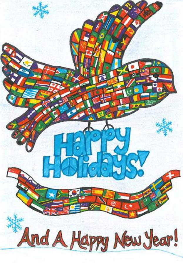 Unicef Christmas Cards.North Texas Kidsdallas Teen Wins Pier 1 Imports And Unicef