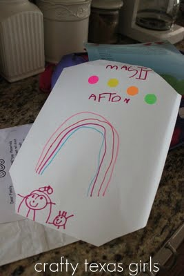 Child's Art Rainbow