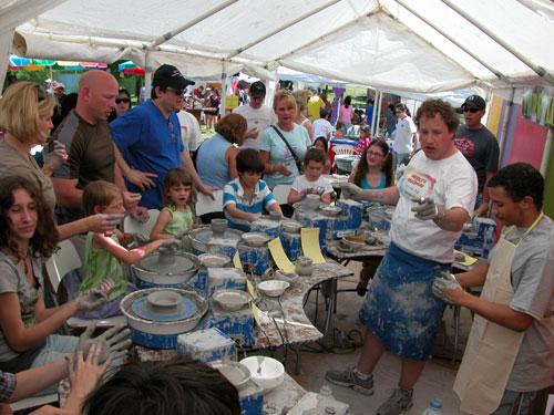 Cottonwood Arts Festival - Artstop - Pottery