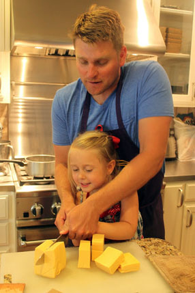 Samantha Conner - Daughter and Dad Cooking