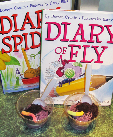 Diary of a Worm, a Spider and a Fly - Purple Cow - Dirt Sundae