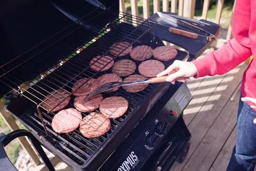 Memorail Day barbecue