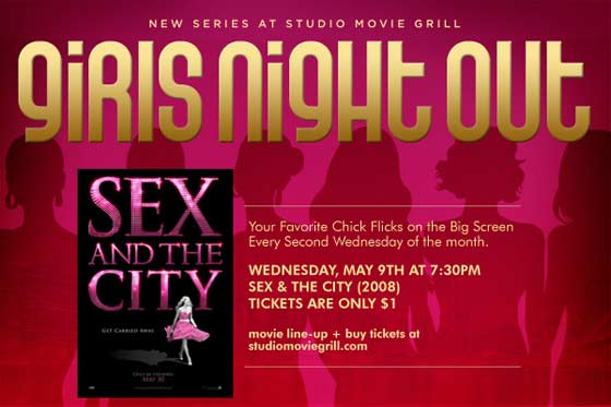 Studio Movie Grill - Girls Night Out