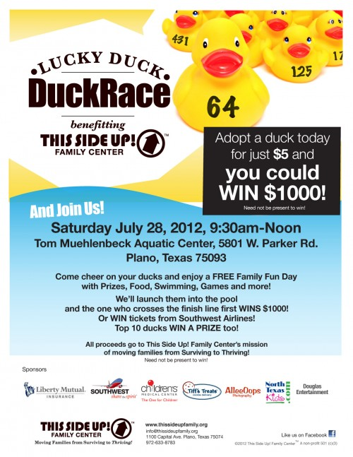 Free Family Splash Fest Amp Duck Race North Texas Kids