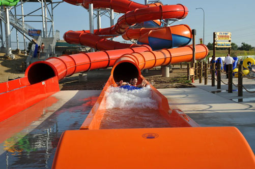 Hawaiian Falls - Beach Blasters - Roanoke