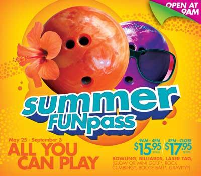 Main Event Summer Fun Pass