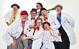 Biggest Shaving Cream Pie Fight on Earth - Funnyatrics Clown Program