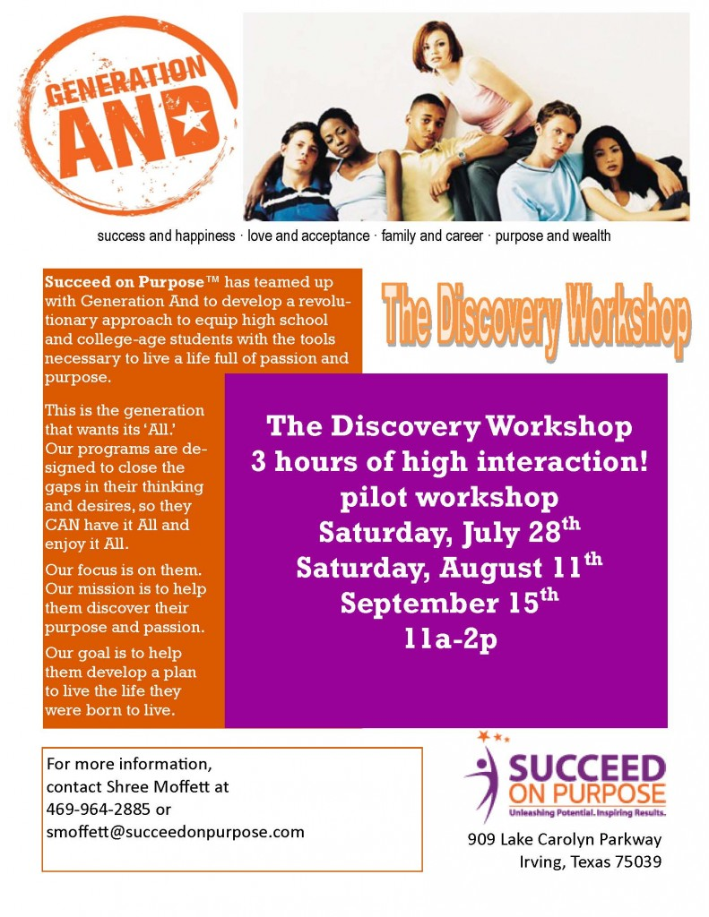 teen workshop