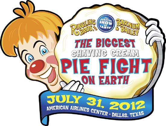 The Biggest Shaving Cream Pie Fight on Earth - Ringling Bros. and Barnum & Bailey