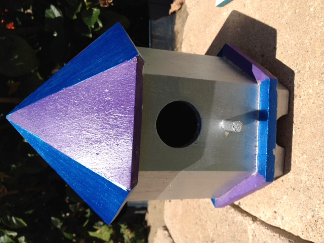 Crafts Painting Birdhouses How To