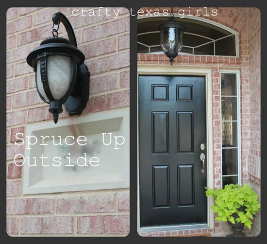 Spruce up the outside of your home - Samantha Conner