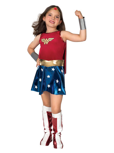 kids wonder woman halloween costume