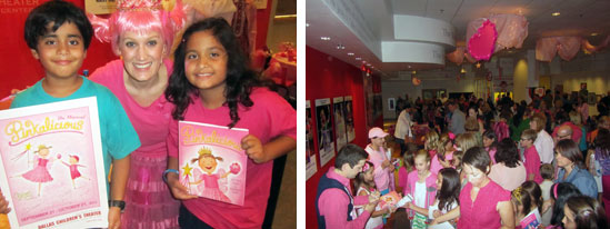 Pinkalicious the Musical - Dallas Children's Theater - Autographs