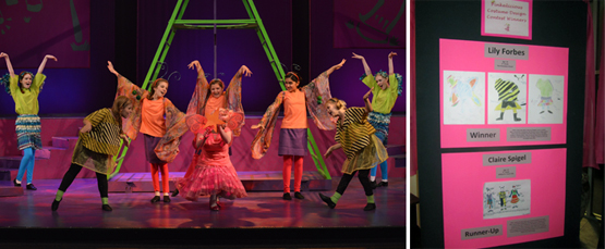 Pinkalicious the Musical - Dallas Children's Theater - Birds, Bees & Butterflies