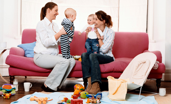 Stay at Home Moms - Playdate with Babies