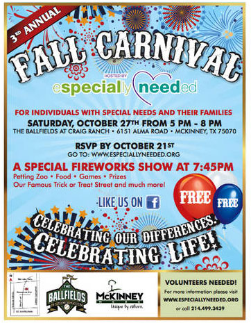 Special Needs Fall Carnival