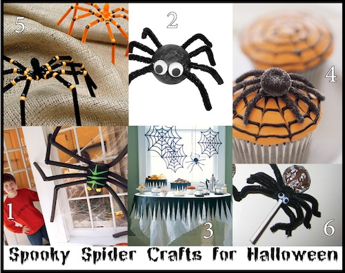Decorate for Halloween with Spiders