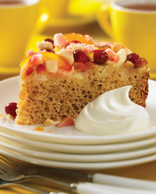 Apple Cranberry Cake - Best of Bridge Slow Cooker Cookbook
