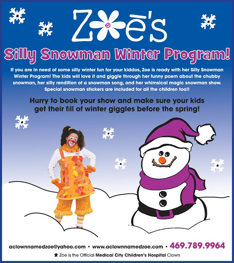 Zoe the Clown Winter Program