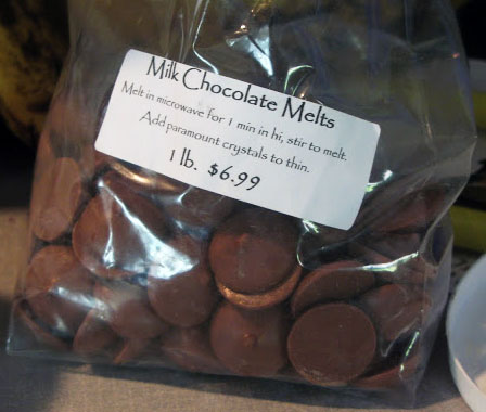 Milk Chocoate Melts