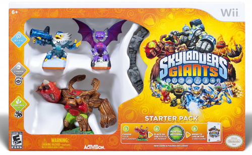 North Texas Kids Holiday Guide - Skylanders Giants Starter Pack Giveaway