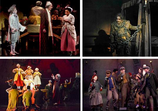 A Christmas Carol - Dallas Theater Center - Collage