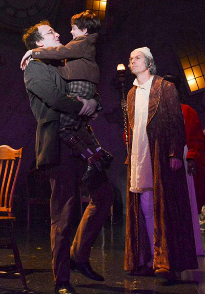 A Christmas Carol - Dallas Theater Center - Bob Cratchit & Tiny Tim