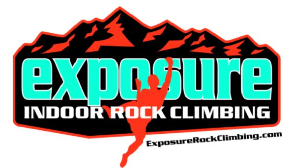 Exposure Rock Climbing logo