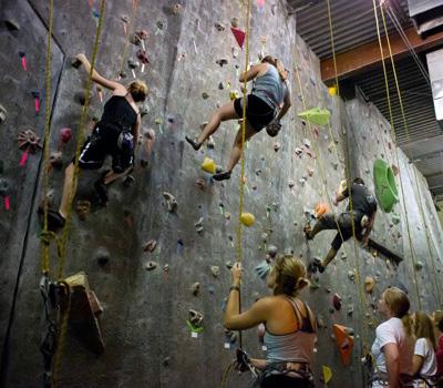 Exposure Rock Climbing