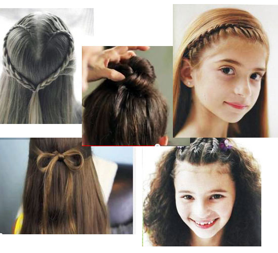 Simple Hair Style For Kids Magnificent 5 Ideas For Holiday Hair Styles  North Texas Kids