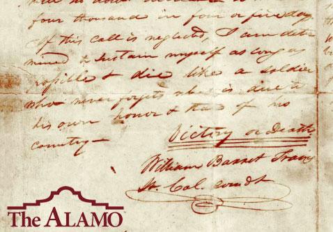 The Travis Letter - The Alamo