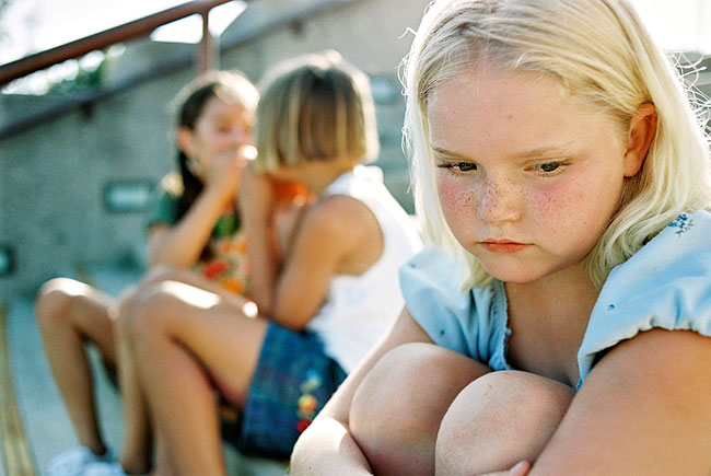 Bullied Girl - Why kids may not tell you they're being bullied