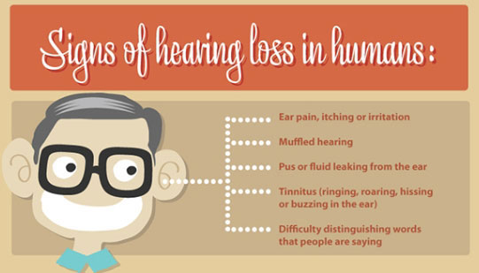 Hearing loss due to high frequency 2014