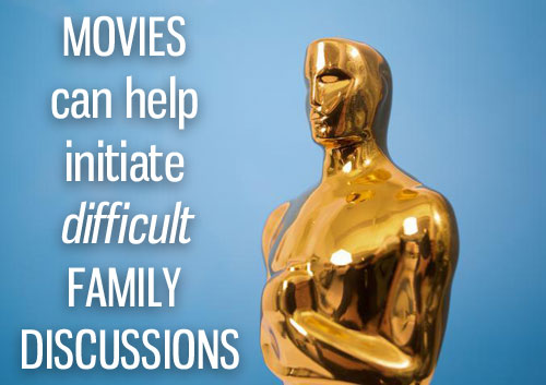 Movies as conversation starters for family discussions