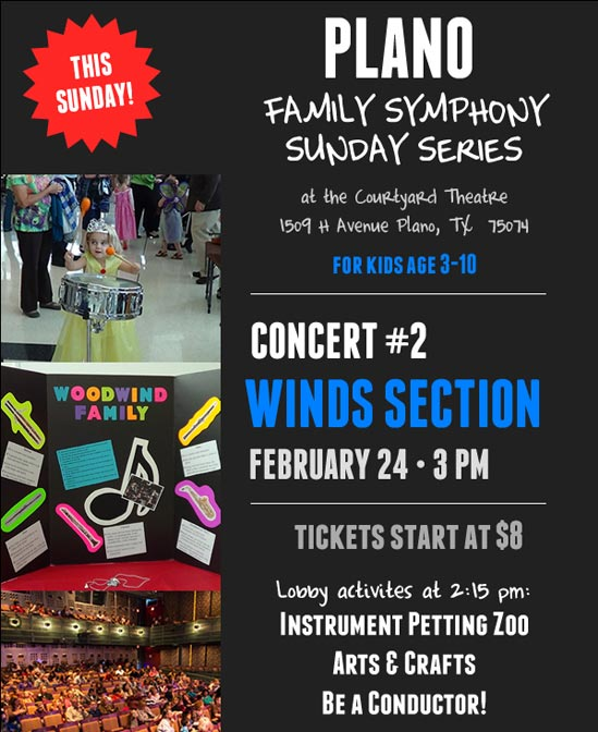 Plano Symphony Orchestra - Family Symphony Sundays