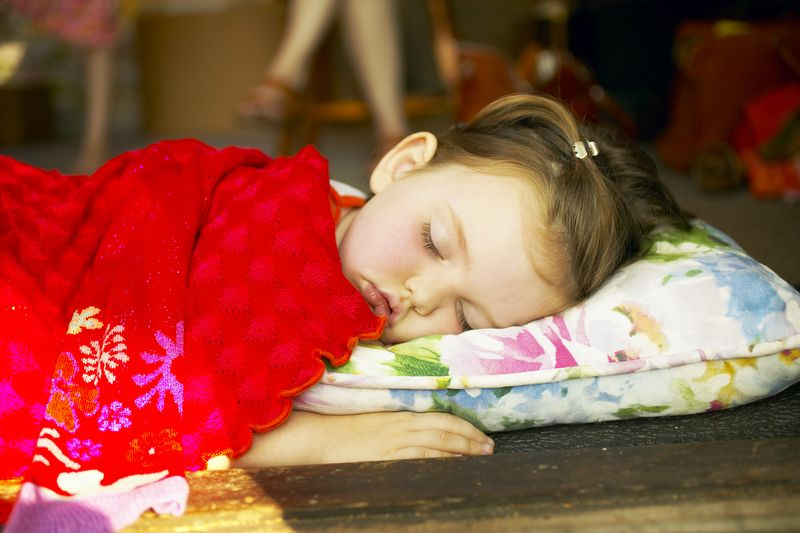 Why kids need sleep - sleeping girl