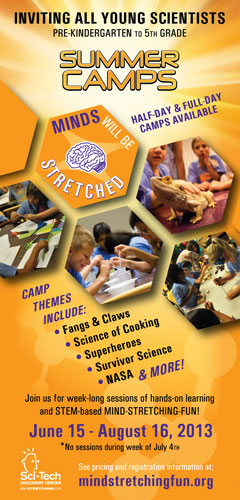 Sci-Tech Discovery Center - North Texas Kids Summer Camps