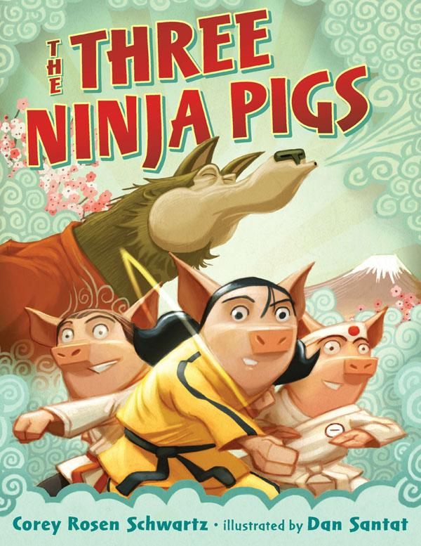 Book Review: The Three Ninja Pigs