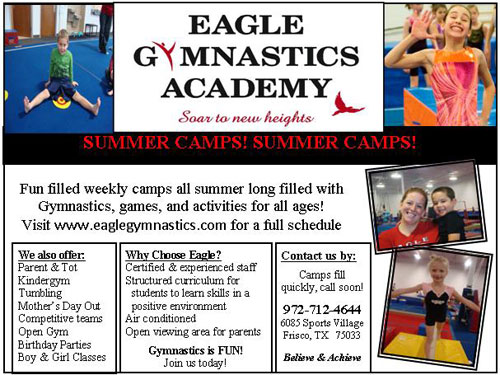 Eagle Gymnastics - North Texas Kids Summer Camps Guide