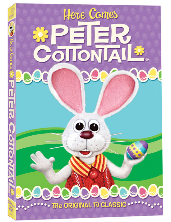 Here Comes Peter Cottontail - Peter Cottontail DVD Giveaway - North Texas Kids