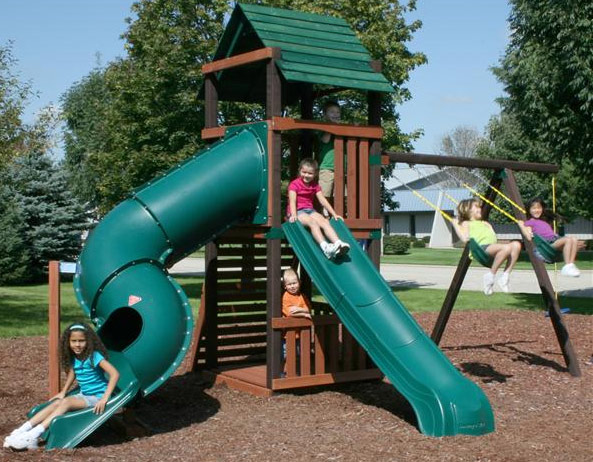 summit it playset p yourself n do swing custom home slide with pioneer en