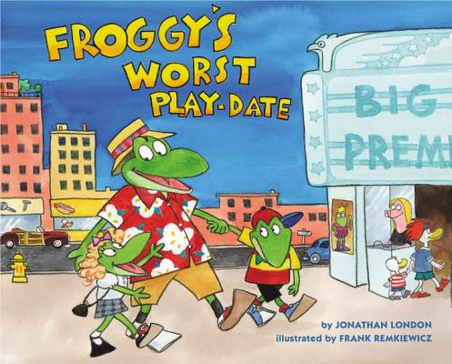 Childrens book review - Froggy's Worst Playdate