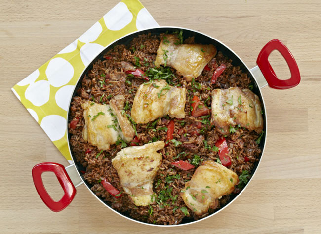 Cinco de Mayo recipe - Arroz Con Pollo