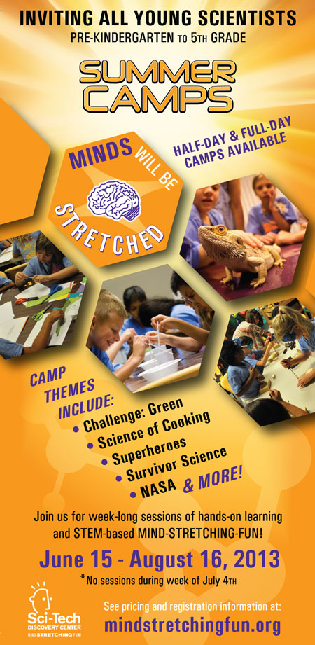Sci-Tech Discovery Center Summer Camps - North Texas Kids Summer Camps