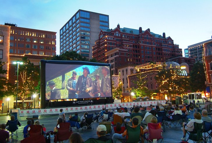 Sundance Square - Free summer movie series