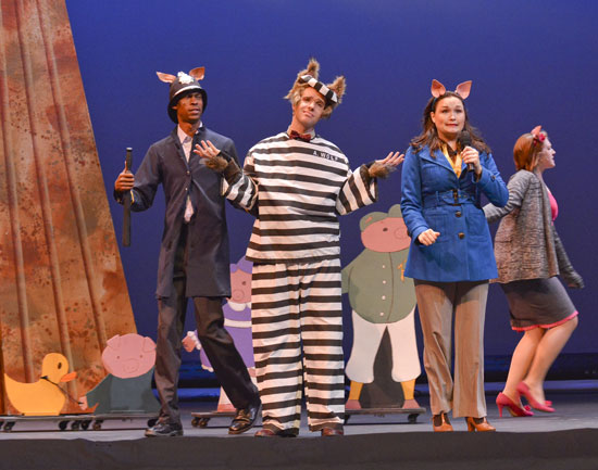 True Story of 3 Little Pigs - Dallas Children's Theater